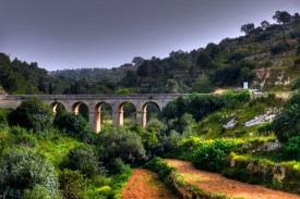 Aquaduct in Gharghur Valley
